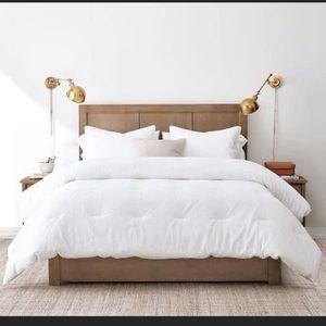 Super Soft White Down  Alternative Comforter